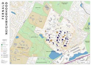 Fernald Neighborhood Map
