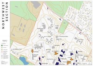 Fernald Section Map - Northwest