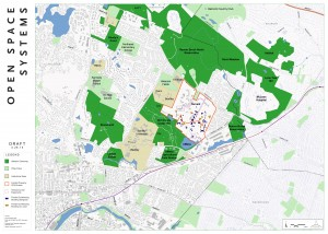 Fernald Open Space Map