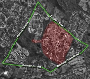 Fernald Site Aerial View 2